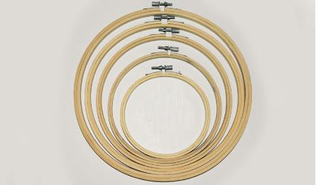 wood loop for stitching 10cm 0519591