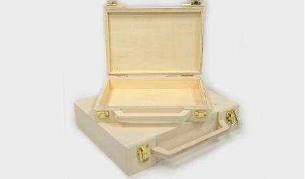 ΞΥΛΙΝΟ ΒΑΛΙΤΣΑΚΙ ΣΕΤ/2 25.5cmx23.3cm LYB06585M 0519606