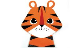 Big Wood tiger with hole size:20*24cm thickness:5mm 0519639