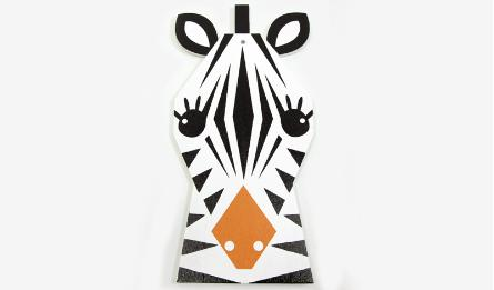 Big Wood Zebra with hole size:11.7*24cm thickness:5mm 0519648