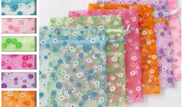 Bag Organza flower 25x20cm 0520036