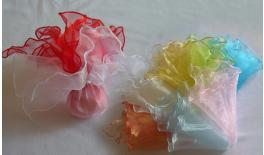ORGANZA WAVED BORDER 35x35cm 0527056