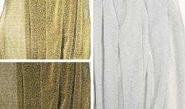 150cm*5Y/pack gold fabric 0527248