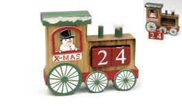 HDC-19627B 15*13cm wooden train holder 0531079