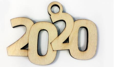 2020 ΞΥΛΙΝΟ 12cm x 8.5cm ΚΡΕΜΑΣΤΟ 0531113