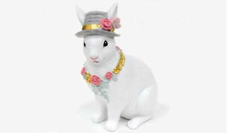 HAG-111417 11x8x18cm rabbit 0531124