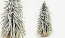 ST15-T055D H52cm X-mas tree, snow finish 0532014