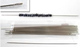 LONG NEEDLES FOR BEADS 12cm 36pcs 05520212