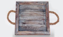 18DD-A020B wood plate 35*35*5CM 0621072
