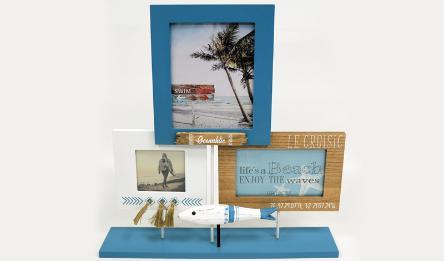 ΕΠΙΤΡΑΠΕΖΙΟ ΣΤΑΝΤ ΓΙΑ ΦΩΤΟΓΡΑΦΙΕΣ BEACH WH18-127 38x41.5cm 0621111
