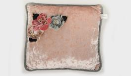 17A14551 30x30x30CM OLD PINK CUSHION FABRIC FOR DECORATION 0621128