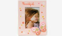 BS18-661 MDF PHOTO FRAME,BUTTERFLY DESIGN 17.5*0.8*22.5CM 0621206
