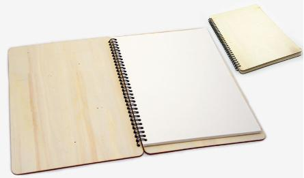 Big wood notebook 29.3*19.6cm 0621257
