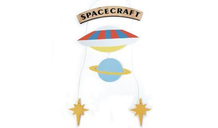 ΚΡΕΜΑΣΤΟ ΔΙΑΚΟΣΜΗΤΙΚΟ SPACE 20x42cm RS-190671 0621258
