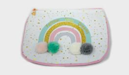 XYX19-187 FABRIC STORAGE BAG,RAINBOW DESIGN,15X20CM 0621300